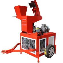 Máquina de fabricación de bloque de ladrillo de arcilla hydraform motor diesel FL1-20 Sudáfrica