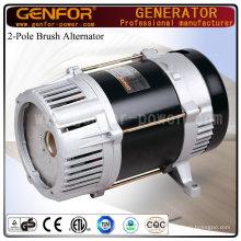 Brush & Brushless Excited 2-Pole Single Phase Alternator