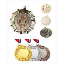 Werbegeschenke Benutzerdefinierte Metall Sport Ehre Award Ribbon Medal