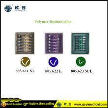 Laparoskopische Polymer-Hemolok-Clips
