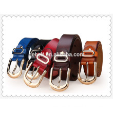Fashion leather jeans belts for women and ladies