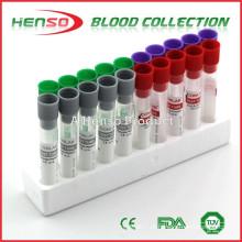 Tubos de sangue sem vácuo HENSO