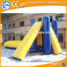 Escorrega inflável inflável da água slide slide esportes de água inflável slide deslizantes infláveis da água
