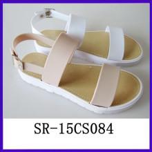 Zapato con clase de la sandalia 2014 de la mujer de la sandalia de la correa del verano Zapato de la mujer del zapato de la mujer del zapato