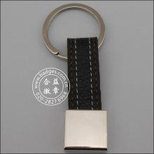 Leather Key Ring, Custom Metal Keychain (GZHY-KA-069)
