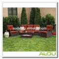 Audu Seattle Patio Garden Rattan Outdoor Wicker Sofa