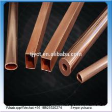 tubo de cobre retangular / tubo de latão quadrado 1 kg de cobre preço na índia preço