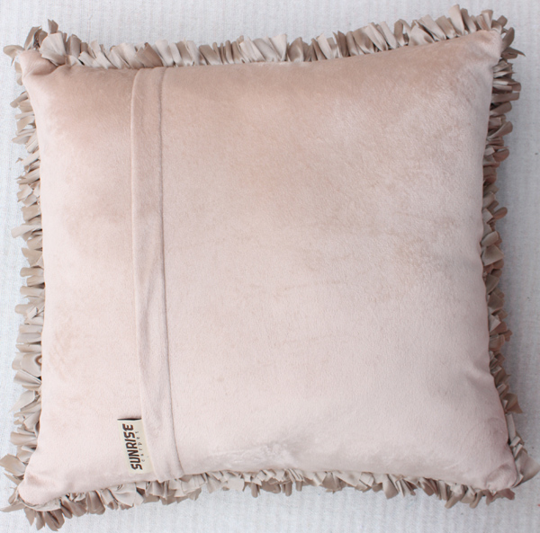 Back side of the Polyester Cushion