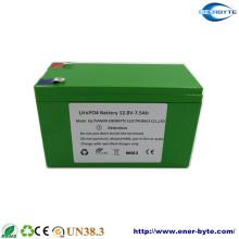 Batterie LiFePO4 12.8V 7.5ah