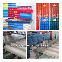 máquina de fabricación de tejado corrugado de tres capas pvc