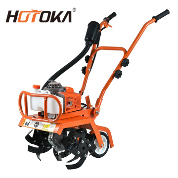 gasoline power rotary tiller cultivator weeder machine