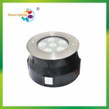 Luz enterrada del acero inoxidable de la alta calidad 6W / 18W LED