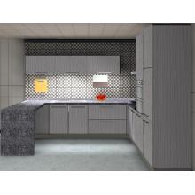 Wood Design Kitchen Cabinet (ZH-3929)
