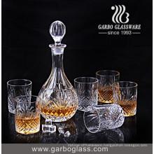 Elegant Design Glass Drinking Set of 7PCS