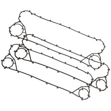 Junta de intercambiador de calor de placa APV H17