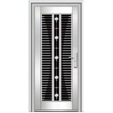 puertas exteriores de acero inoxidable