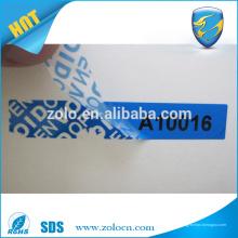 Garantía nula para la transferencia del molde de la etiqueta PS4 si se quita las etiquetas engomadas para la seguridad