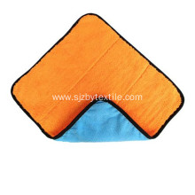 40x40Durable Coral Velvet Car Cleaning Microfiber Towel