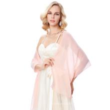 """Kate Kasin Stock 72 * 18 """"écharpe en mousseline de soie chiffonnière nuptiale robe de soirée écharpes écharpes KK000229-3"""