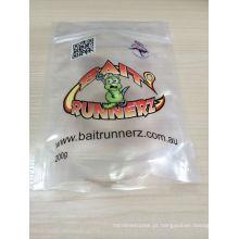 Saco de alimento de empacotamento do biscoito plástico resealable aceitado OEM / ODM