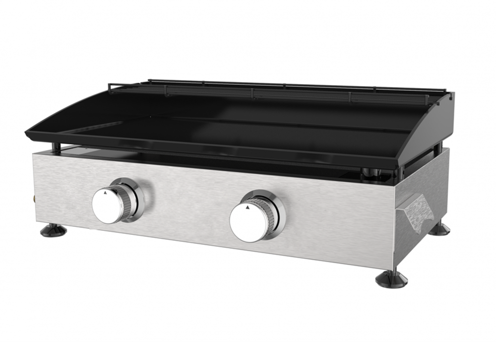 2 Burner Outdoor Gas Griddle