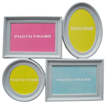 Beliebte White 4 Eröffnung Kunststoff Collage Rahmen