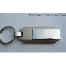 Горячий продавая привод вспышки USB шарнирного соединения Keyring (D309)