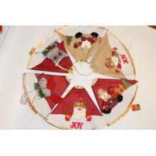 Рождественская елка юбка для праздничного украшения Xmas партии