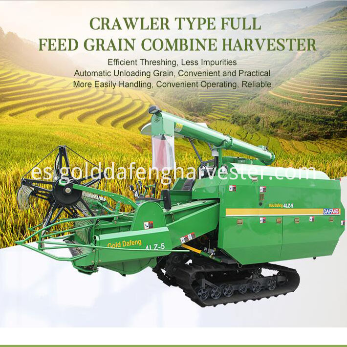 Self-propelled rice harvester 710 710