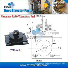 Elevator Anti-vibration Pad Rubber Pad, Lift Spare Parts