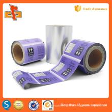 Embalagem plástica decorativa decorativa da etiqueta da luva do calor do plástico do OEM para o frasco