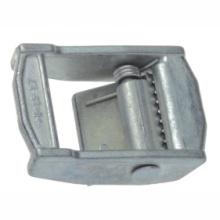 Vente en gros de quincaillerie en métal alliage de zinc double boucle de ceinture pour retard La corde
