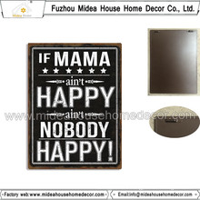 Europe Style Personalized Concave-Convex Metal Plaque