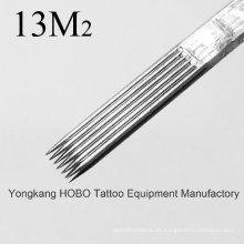 Estéril de calidad estándar desechables agujas de tatuaje Magnum
