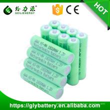 Alta qualidade 1.2 v 3 aaa NIMH 1800 mah bateria recarregável