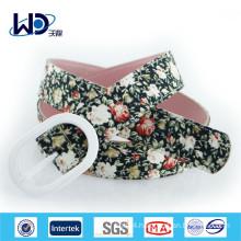 2014 Fancy ladies dressy fabric belts
