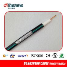 Linan Cabo Dongsheng cabo coaxial Rg11 com preço de fábrica
