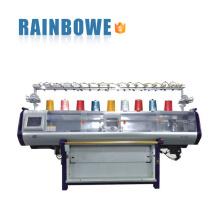 nouvelle condition double système automatique informatisé pull machine à tricoter rectiligne