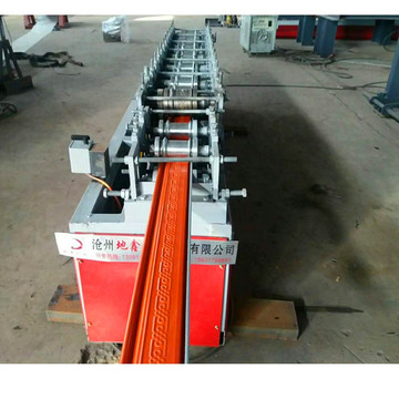 Galvanized steel shutter roll rolling machine
