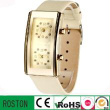 Venda popular quente novo quadrado em forma de relógios para as mulheres