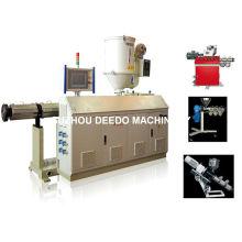 Máquina de extrusora de parafuso único automático completo
