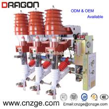 FKN-12 / 630-20 12kv interruptor de carga neumático de alto voltaje de vacío