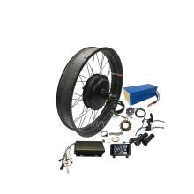 NBpower 3000w hub motor enduro ebike frame electric fat bike 3000w snow beach bike kit 3000w