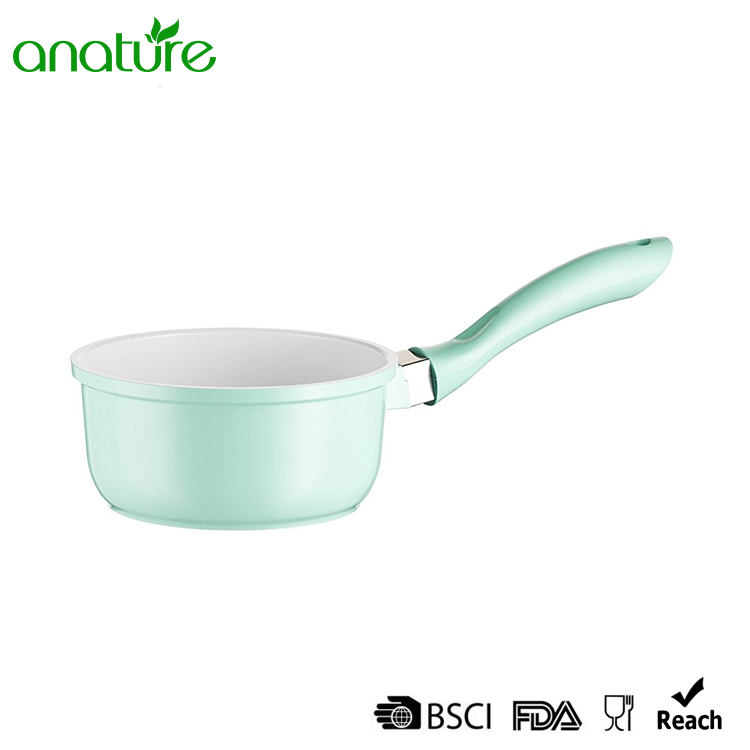 3 Pieces Light Green Die Cast Cookware Set