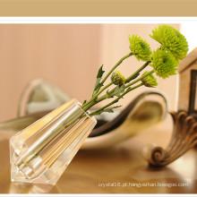 Vaso de flor de cristal original K9 para decoração de casa
