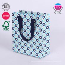 Kundenspezifisches Papier-faltendes Einkaufen Gfit Bag