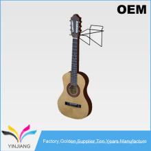 Metal de alambre de diseño simple Slatwall Swivel Guitar Display para guitarra