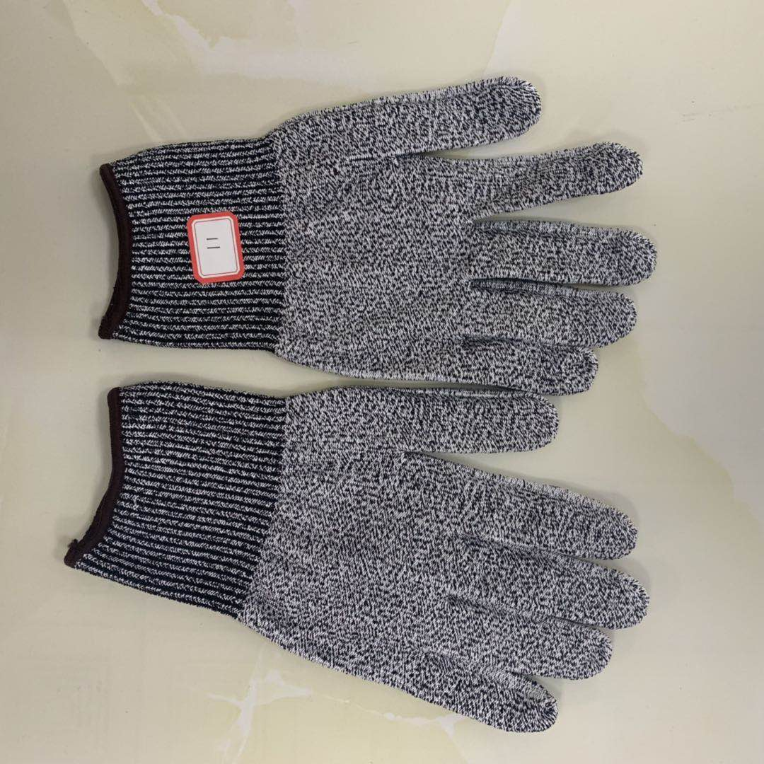 Cut 5 resistant PE/Fiber glass Gloves