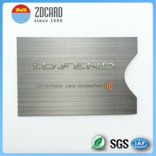 Customized Printed Aluminum Foil Paper RFID Blocking Card Holder