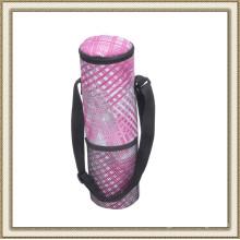 Camping Outdoor Cylinder Cooler Bag for Wine